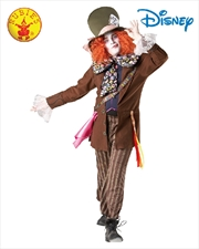 Mad Hatter Deluxe Costume - Size Std | Apparel