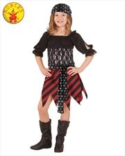 Pirate Tween Costume - Size Tween   Apparel