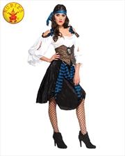 Rum Runner Pirate Adult Costume - Size Std | Apparel