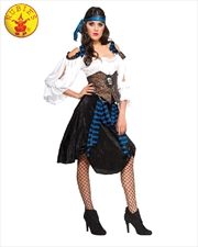 Rum Runner Pirate Adult Costume - Size S | Apparel