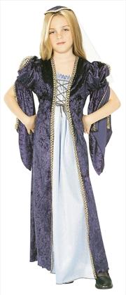 Juliet Kids Costume - Size L   Apparel