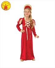 Medieval Princess Costume - Size M