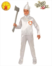 Tin Man Deluxe Child Costume - Size L | Apparel