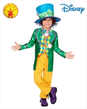 Mad Hatter Boys Deluxe Costume Size 3-5 | Apparel
