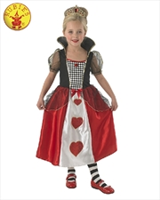 Queen Of Hearts Costume - Size 7-8