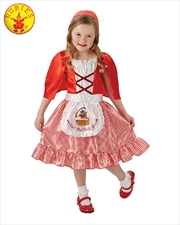 Red Riding Hood Costume - Size M 6-8 Yrs | Apparel