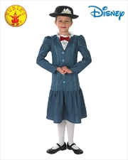 Mary Poppins Tween Costume Size M 9-10 Yrs