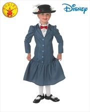 Mary Poppins Deluxe Costume Size 7-8
