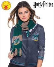 Harry Potter Slytherin Deluxe Scarf - One Size | Apparel