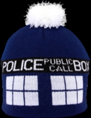 Doctor Who - TARDIS Pom Beanie | Apparel