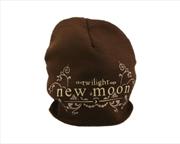 The Twilight Saga: New Moon - Beanie Brown Logo | Apparel