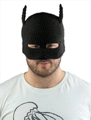 Batman - Batman Cowl Knit Beanie (Black) | Apparel