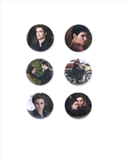 The Twilight Saga: New Moon - Pin Set of 6 Edward, Jacob & Bella
