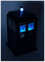 Tardis Projection Alarm Clock