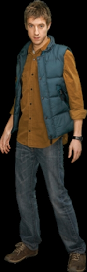 Rory Body Warmer Cardboard Cut | Collectable