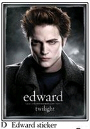 Sticker D Edward Cullen