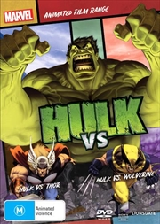 Hulk Vs Thor / Hulk Vs Wolverine | Marvel Feature Range | DVD
