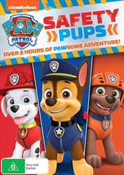 Paw Patrol - Safety Pups | DVD