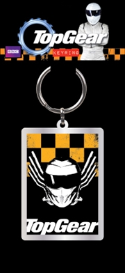 Top Gear - Yellow and Black Keyring | Accessories