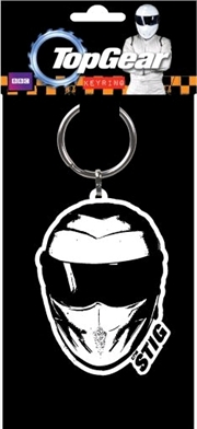 Top Gear - The Stig Flexible Keyring | Accessories