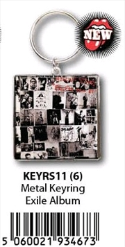 The Rolling Stones - KeyRing Exile On Main Street Alb | Accessories