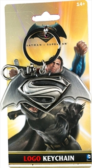 Batman v Superman: Dawn of Justice - Movie Logo Keychain | Accessories