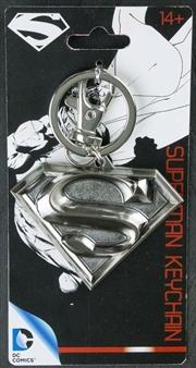 Superman - Superman Logo Pewter Keychain | Accessories