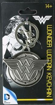 Wonder Woman - Wonder Woman Logo Pewter Keychain | Accessories