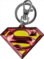 Superman - Logo Colour Enamel Keychain | Accessories