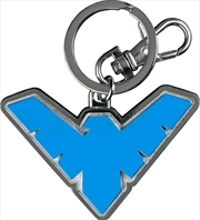 Batman - Nightwing Logo Colour Enamel Keychain | Accessories