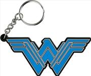 Wonder Woman Movie - Logo PVC Keychain | Accessories