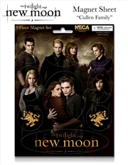 The Twilight Saga: New Moon - Magnet Sheet Cullen Family