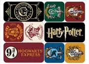 Harry Potter - Houses Epoxy Magnet Set