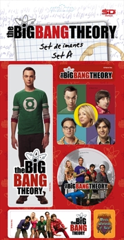 The Big Bang Theory - Magnet Set A