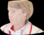 Doctor Who - Fifth Doctor Toby 3D Mug | Merchandise