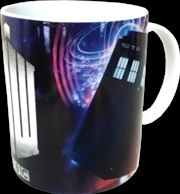 Doctor Who - TARDIS & Insignia Logo Mug | Merchandise