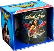Wonder Woman Movie - Sword Drawn Black Coffee Mug | Merchandise