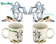 Rick and Morty - Snowball Bad Person Bad Mug | Merchandise