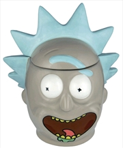 Rick and Morty - Rick 3D Mug with Lid | Merchandise