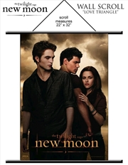 The Twilight Saga: New Moon - Wall Scroll Love Triangle | Merchandise