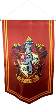 Harry Potter - Gryffindor Satin Banner
