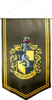 Harry Potter - Hufflepuff Satin Banner | Merchandise