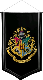 Harry Potter - Hogwarts Satin Banner