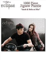 Twilight Saga: Eclipse - Jacob & Bella On Bike - 1000 Piece Jigsaw Puzzle | Merchandise