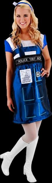 Doctor Who - TARDIS Costume Dress S/M | Apparel