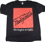 True Blood - Fangtasia Black Male T-Shirt L