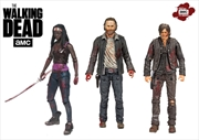 "The Walking Dead - Hero 3-pack 5"" Deluxe Box Set"