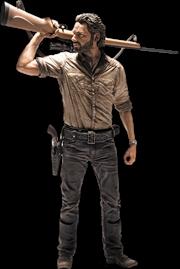 """The Walking Dead - Rick Grimes 10"""" Action Figure"""
