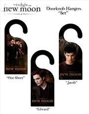 The Twilight Saga: New Moon - Door Knob Hangers Assortment | Merchandise