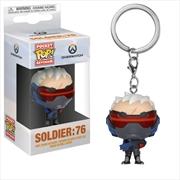 Overwatch - Soldier: 76 Pocket Pop! Keychain | Pop Vinyl